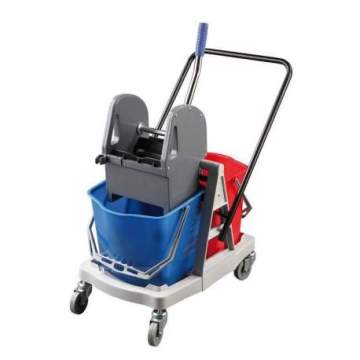 Carro Autoportante Doble Azul 2 x 18 L